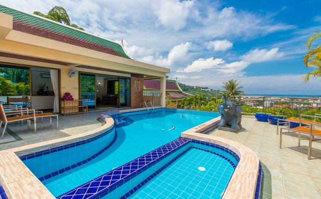 Phuket Villa for Rent - Outside Area for Jasmine